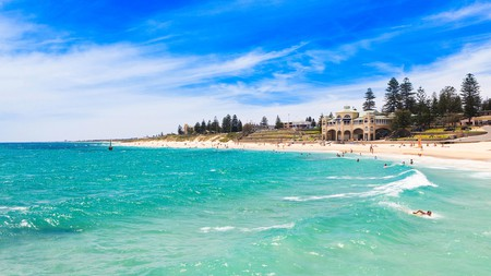 Cottesloe Beach is the perfect spot to soak up some West Australian sunshine