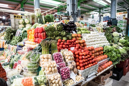 San Juan Market (Mercado de San Juan) near the Historic District in Mexico City specializes in exotic and gourmet ingredients and caters mainly to res