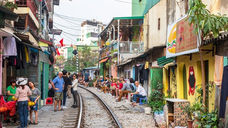 Enjoy a virtual tour of Train Street, one of Hanoi's must-see attractions