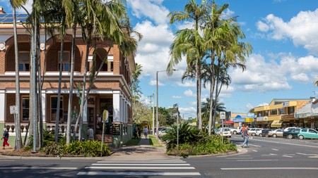 Mullumbimby is approximately 25 minutes north of Byron Bay