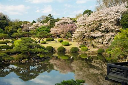 The Shinjuku Gyoen National Garden boasts three distinctive styles