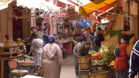 Old Medina, Casablanca, Morocco.