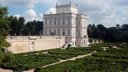 Villa Doria Pamphili, the Casino del Bel Respiro