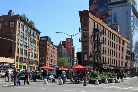 The once industrial Meatpacking District is now considered to be one of Manhattan's trendiest downtown neighborhoods