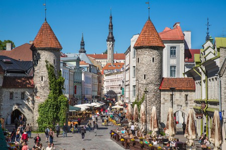 Tallinn's Old Town is one of Europe's best preserved medieval cities