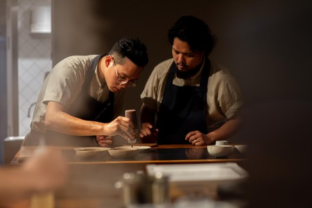 Dewakan is experimental, with a focus on fine produce