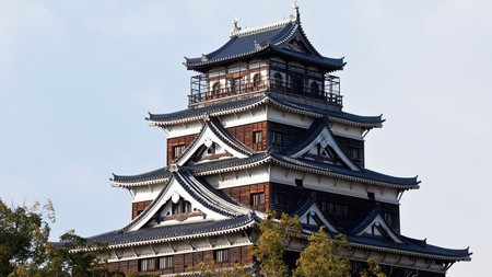 Before it was destroyed by the atomic bomb, Hiroshima Castle was a key military zone