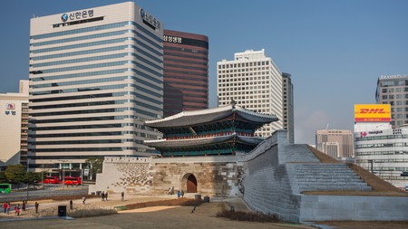 Namdaemun in 2013, the year it was re-opened