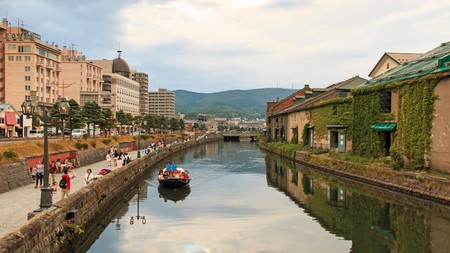 Historic canal and warehouse district in Hokkaido Prefecture, Otaru