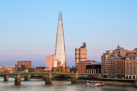 South London is home to The Shard, one of the city skyline's most recognisable buildings
