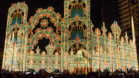 Held in December, Luminarie is one of Kobe's many festivals throughout the year