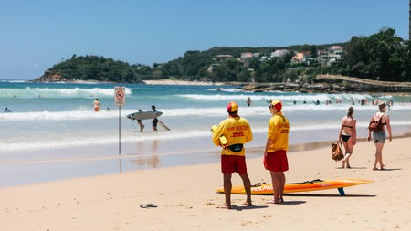 Soak up the sun at Manly Beach