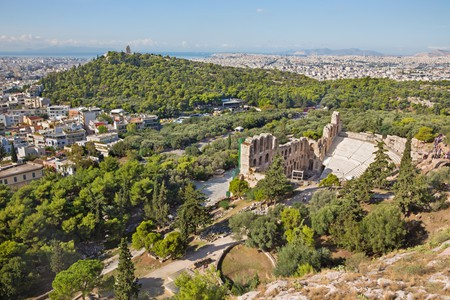 The Odeon of Herodes Atticus (also known as the Herodeon) is among the many delights of Athens