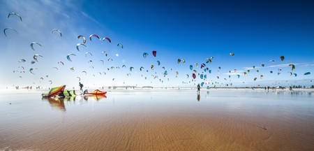 Try you hand at kitesurfing in Essaouira