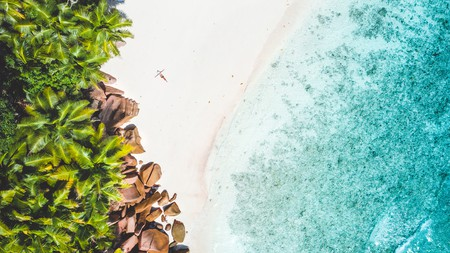 The Seychelles are home to some of the most beautiful beaches in the world