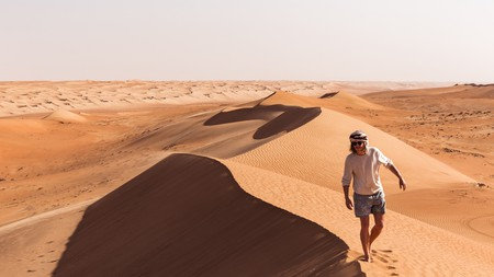 Sand dune, Wahiba Sands, Oman