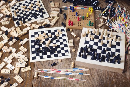 Lose yourself in a board game