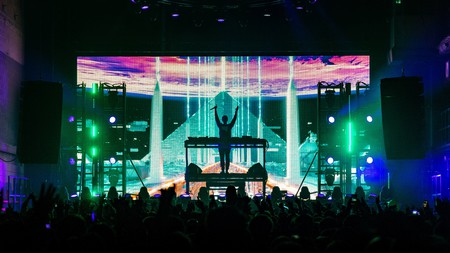 Zedd perform at the Printworks, one of London's top clubs