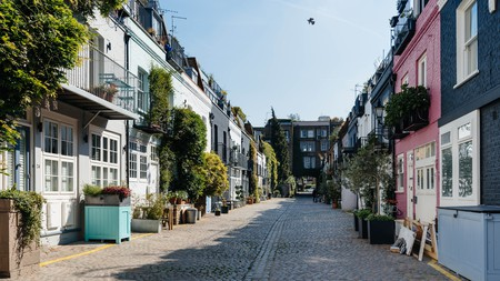 West London is brimming with picturesque mews