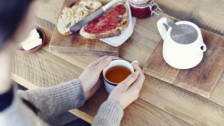 Tea, bread, sourdough