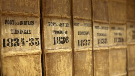 One of the world's oldest newspapers is Sweden's Post och Inrikes Tidningar, founded in 1645