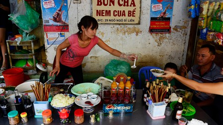 Bún chả is one of Vietnam's most popular dishes