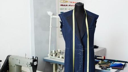 Mannequin in Tailoring Studio