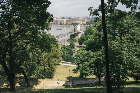 A panoramic of the city, Budapest, Hungary