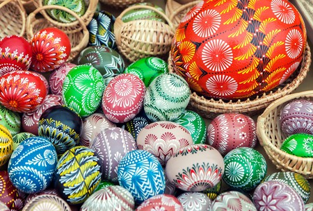 Egg decorating is an Easter tradition all over the globe