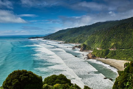 With so much natural beauty, New Zealand is definitely not a bad place to be stuck for an extended period of time