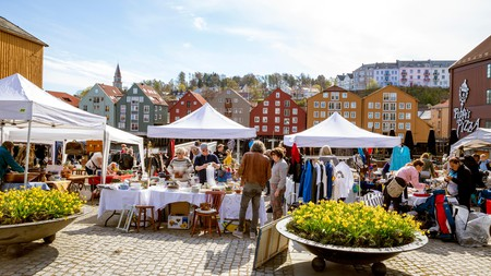 The Bryggerekka Bruktmarked in Trondheim is an excellent place to find some vintage items