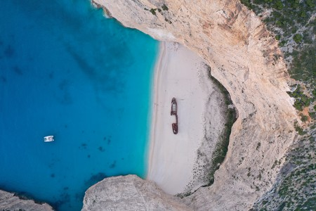The beaches on Zakynthos are truly unforgettable