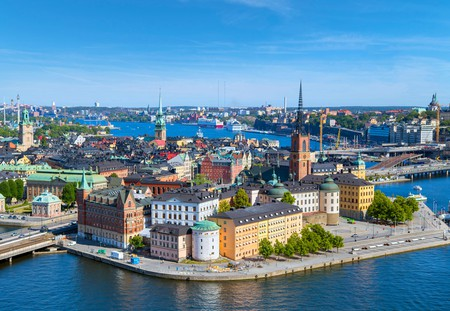 The colourful buildings of the Old Town are among Stockholm's many delights