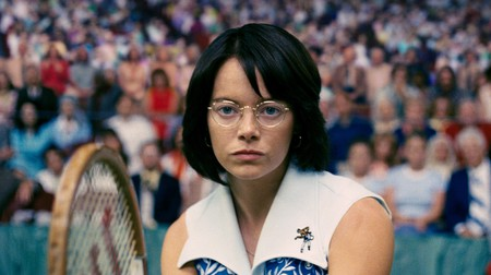 'Battle of the Sexes', starring Emma Stone as Billie Jean King, was released in 2017