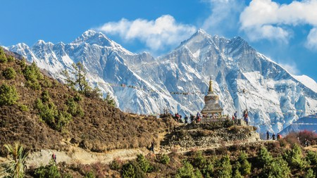 Explore the beautiful, colourful country of Nepal from the comfort of your sofa