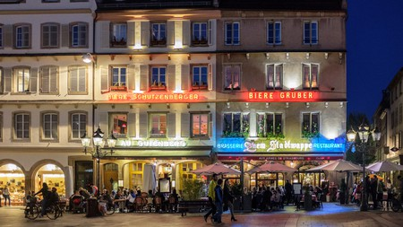Strasbourg has a thriving nightlife scene, with a bar to suit every taste