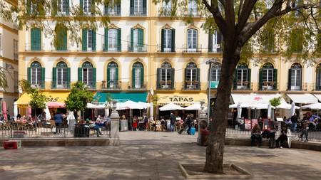 There are plenty of restaurants to try on Plaza de la Merced in Málaga