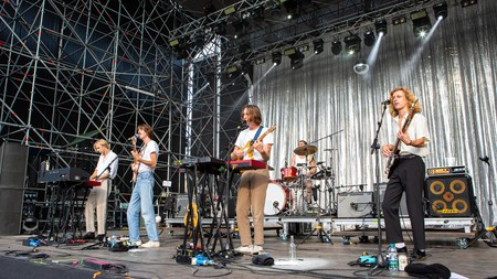 The Australian band Parcels are originally from Byron Bay