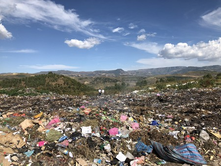'The Plastic Nile' documentary follows Alex Crawford through Africa as she investigates plastic pollution and its effects on the area