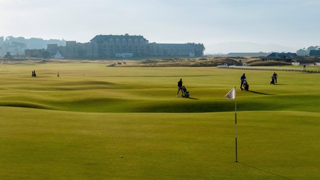 St Andrews links course in Scotland is the oldest in the world