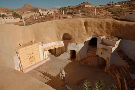 Sidi Driss in Tunisia, also known as Tatooine from Star Wars