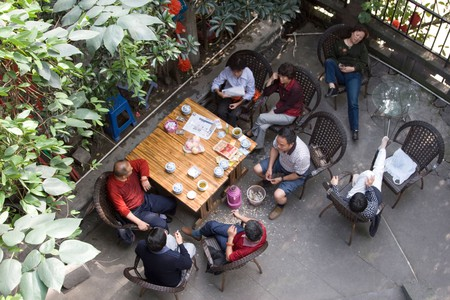 Chengdu has been the veritable capital of Chinese teahouses for centuries