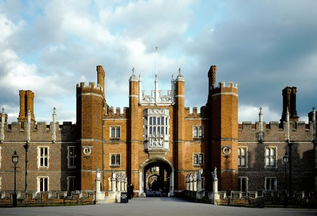 With a long history, it's no surprise that the 16th-century Hampton Court Palace has ghosts roaming the property