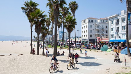 Soak up that LA sun on Venice Beach