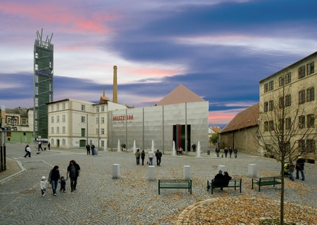 The Temple of Hops and Beer is, unsurprisingly, a popular draw for tourists to Žatec in the Czech Republic