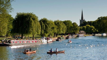 Stratford-upon-Avon is Shakespeare's birthplace and easily accessible from London
