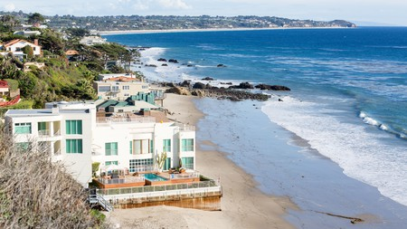 Spend a day celebrity spotting on the golden sand beaches of Malibu