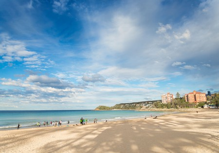 Manly Beach is a popular surf spot in Sydney