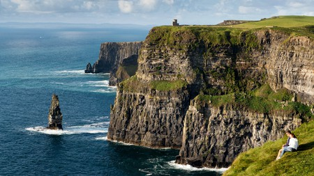 The Cliffs of Moher are one of the most spectacular natural sights in Ireland