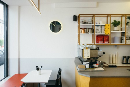 Alongside coffee and tea, Esters offers a variety of breakfast and lunch options in East London